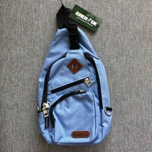 Handbags - Blue Mini Backpack with loads of storage